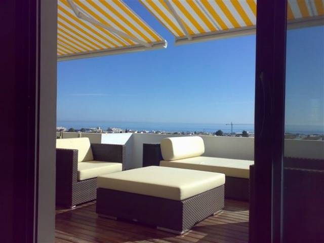 Exclusive, unique, ultra-modern penthouse with panoramic sea views, ideal location in Puerto Banus.